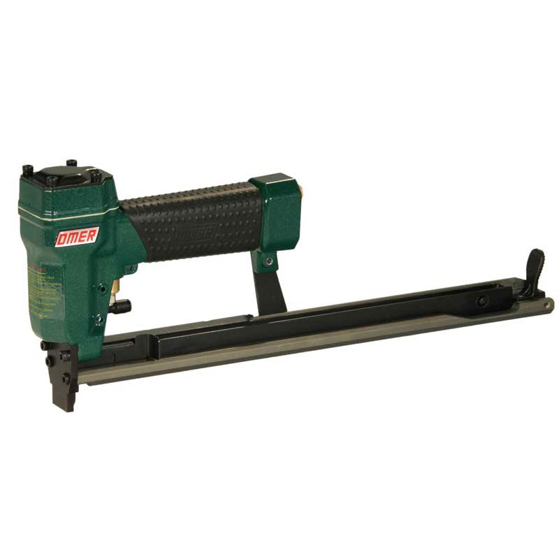 Omer 80.16CLT Long Magazine/Top Load/Remote Fire Fine Wire Stapler